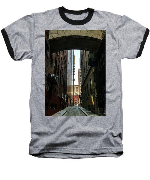 Narrow Streets Of Cobble Stone Baseball T-Shirt by Bruce Carpenter