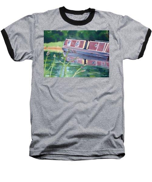 Narrowboat Baseball T-Shirt