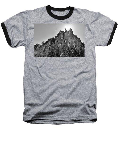 Baseball T-Shirt featuring the photograph Narrows Pinnacle Boulder Canyon by James BO Insogna