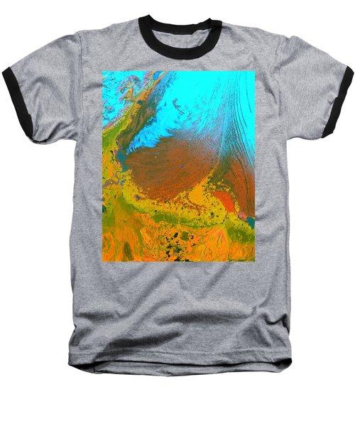 Nasa Image-malaspina Glacier, Alaska-glacier-2 Baseball T-Shirt