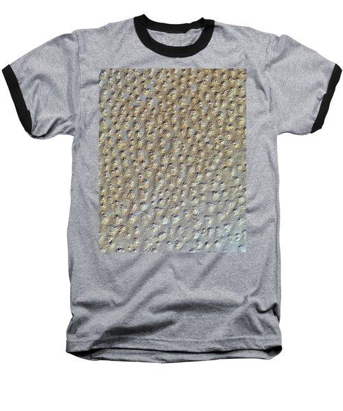 Nasa Image- Star Dunes, Algeria-2 Baseball T-Shirt
