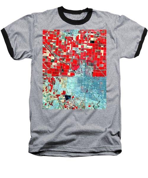 Nasa Image-us-mexico Border-2 Baseball T-Shirt