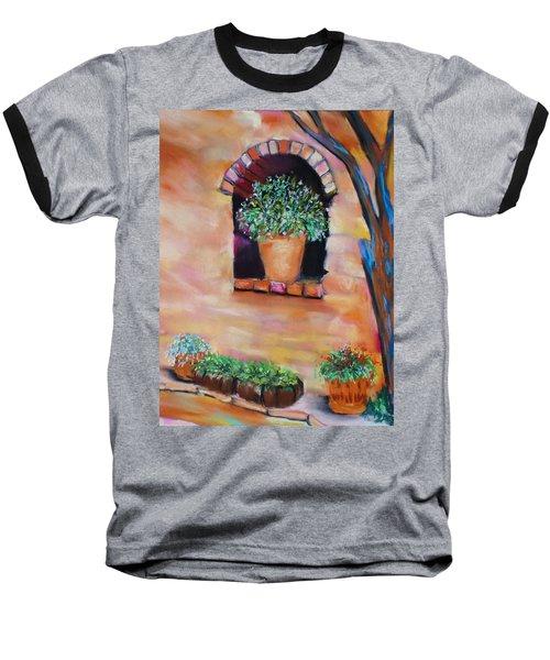 Nash's Courtyard Baseball T-Shirt