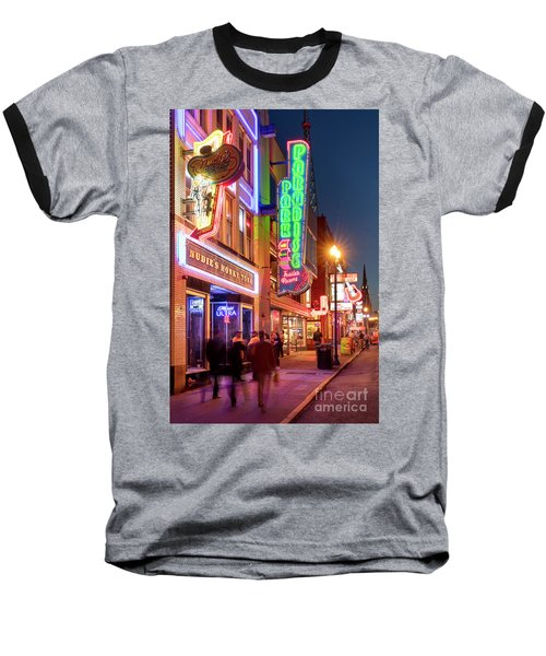 Baseball T-Shirt featuring the photograph Nashville Signs II by Brian Jannsen