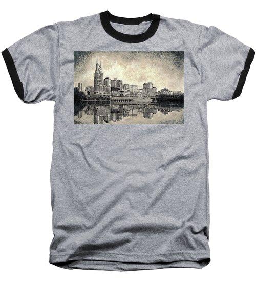 Nashville Skyline II Baseball T-Shirt