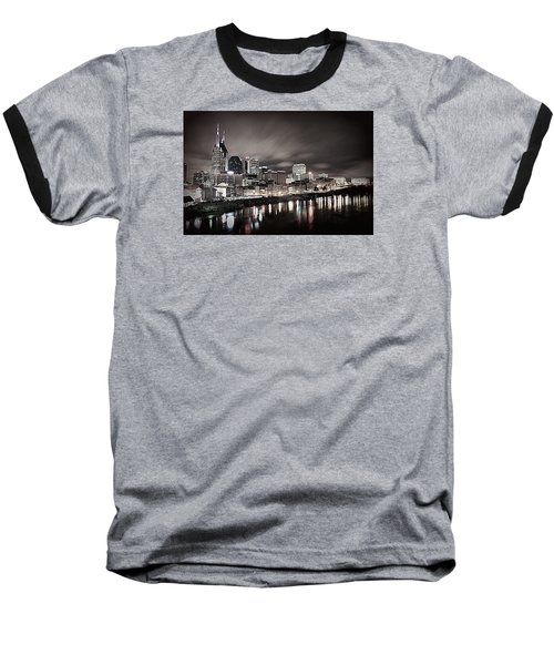 Nashville Skyline Baseball T-Shirt