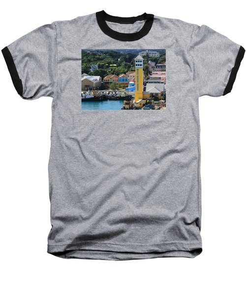 Baseball T-Shirt featuring the photograph Nassau Bahamas by Coby Cooper