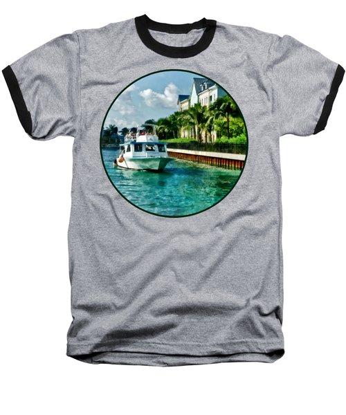 Bahamas - Ferry To Paradise Island Baseball T-Shirt