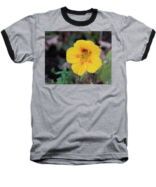 Nasturtium And Thyme Baseball T-Shirt