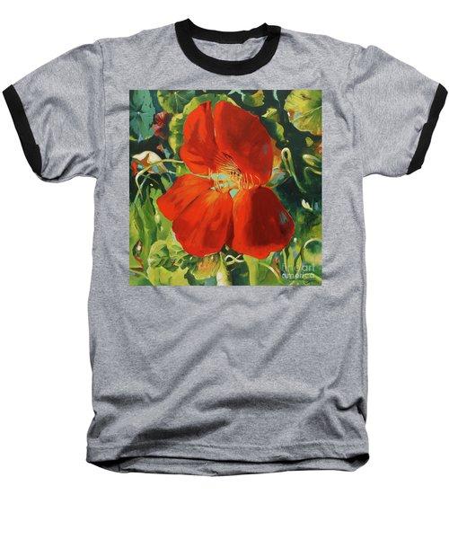 Nasturtium Baseball T-Shirt