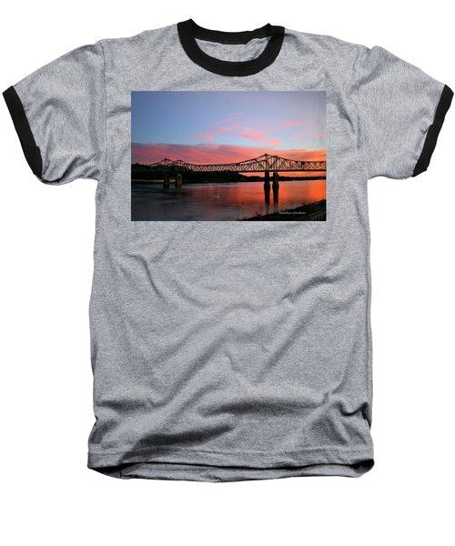 Natchez Sunset Baseball T-Shirt