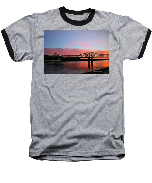Natchez Sunset Baseball T-Shirt