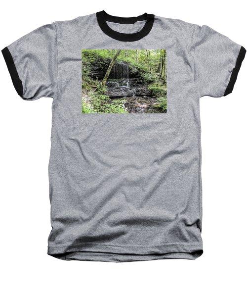 Natchez Trace Waterfall Baseball T-Shirt