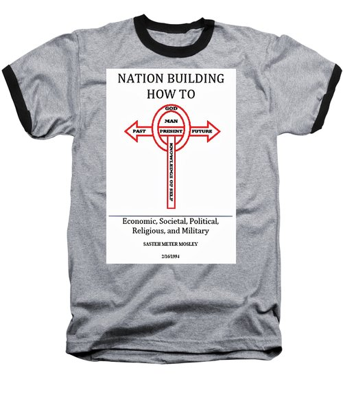 Nation Building How To Book Baseball T-Shirt