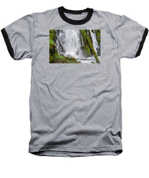 National Falls 2 Baseball T-Shirt by Greg Nyquist