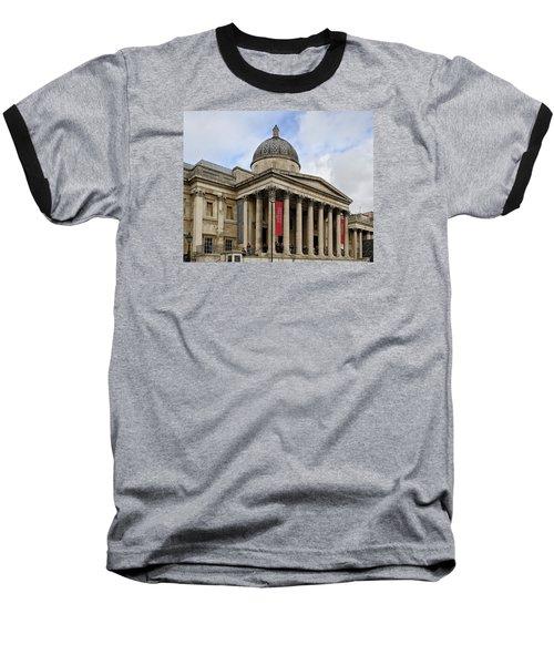 National Gallery London Baseball T-Shirt by Shirley Mitchell
