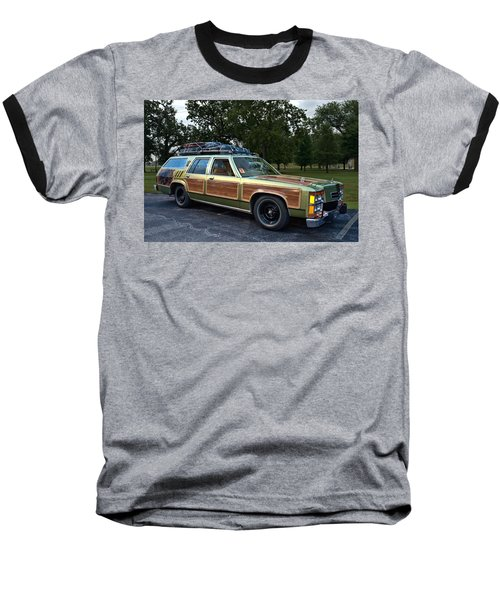 National Lampoons Vacation Truckster Replica Baseball T-Shirt