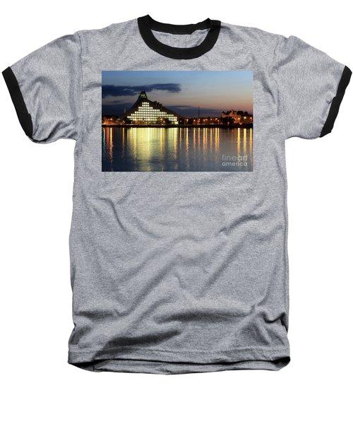 National Library Of Latvia Baseball T-Shirt