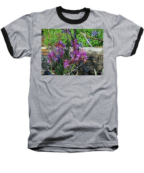 Baseball T-Shirt featuring the photograph National Parks. From The Ashes To New Life. by Ausra Huntington nee Paulauskaite