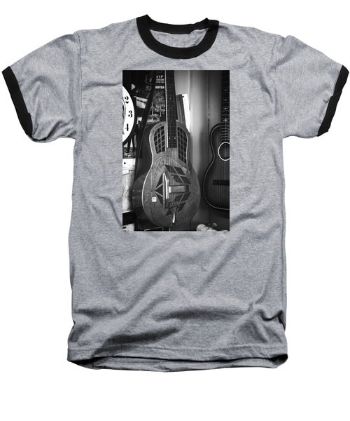 National Steel Guitar No. 24 Baseball T-Shirt