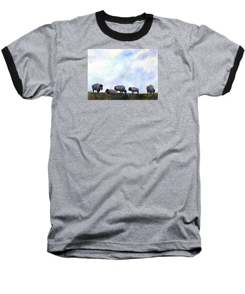 National Treasure - Bison Baseball T-Shirt