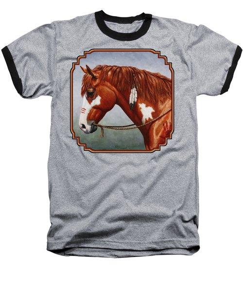 Native American War Horse Phone Case Baseball T-Shirt