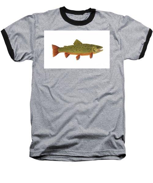 Native Brook Trout Baseball T-Shirt