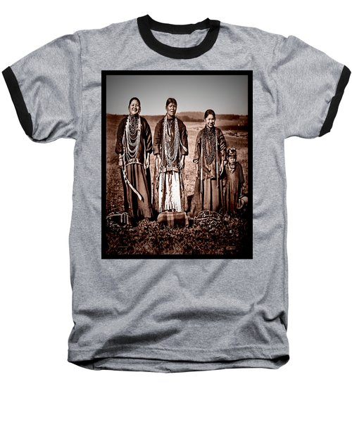 Native Pride Baseball T-Shirt by Mark Allen