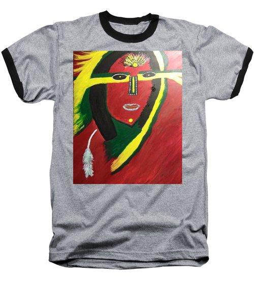 native Queen  Baseball T-Shirt