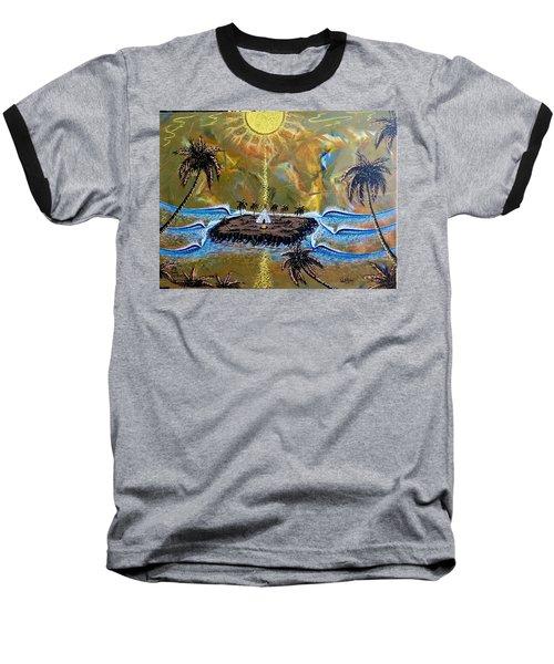 Native Sunset Dream Baseball T-Shirt