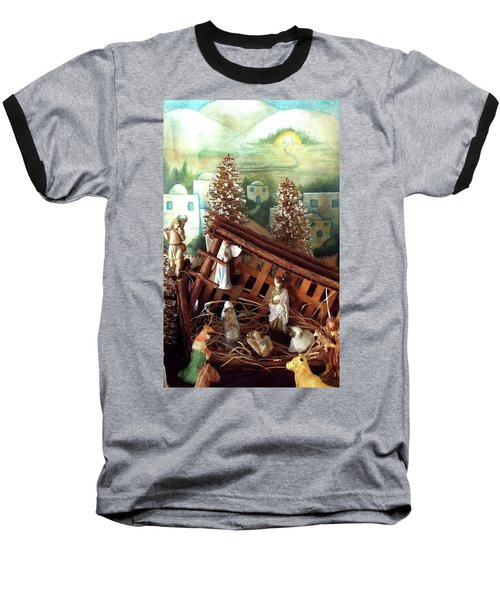 Nativity Of Our Lord Baseball T-Shirt