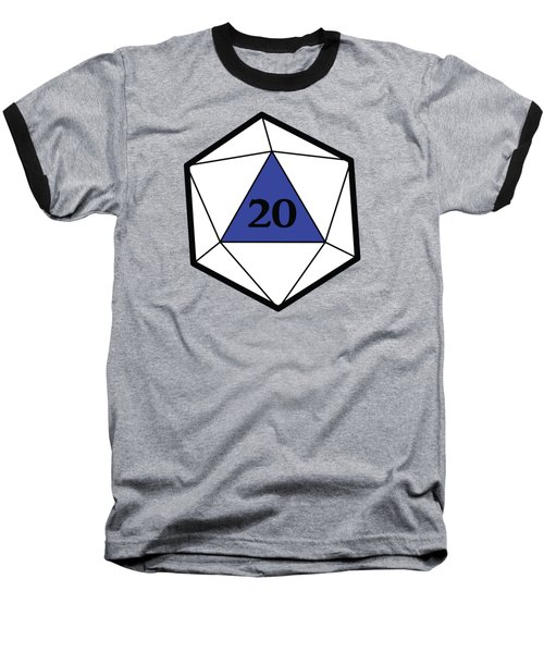 Natural 20 Baseball T-Shirt by Carlo Manara
