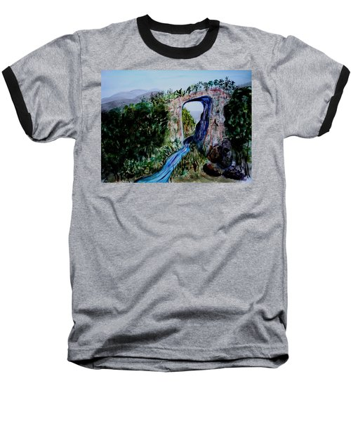 Natural Bridge In Virginia Baseball T-Shirt