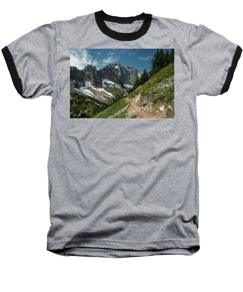 Natural Cathedral Baseball T-Shirt