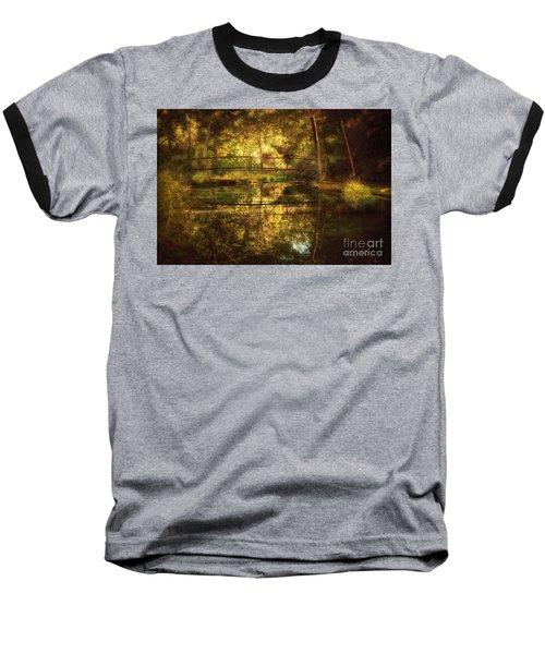 Natural Falls Bridge  Baseball T-Shirt