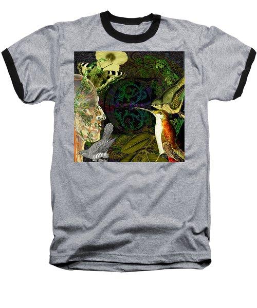 Natural Man Baseball T-Shirt by Joseph Mosley
