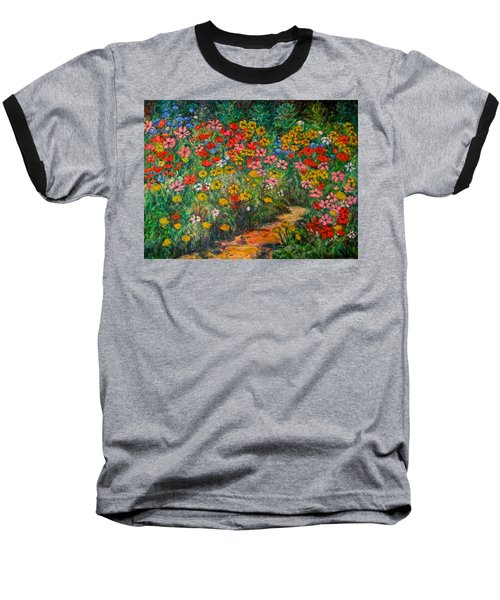Natural Rhythm Baseball T-Shirt by Kendall Kessler