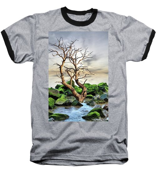 Natural Surroundings Baseball T-Shirt by Angel Jesus De la Fuente