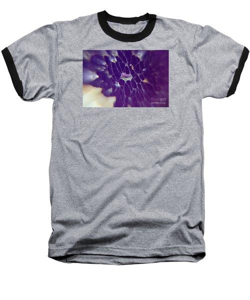 Baseball T-Shirt featuring the photograph Nature Abstract by Yumi Johnson