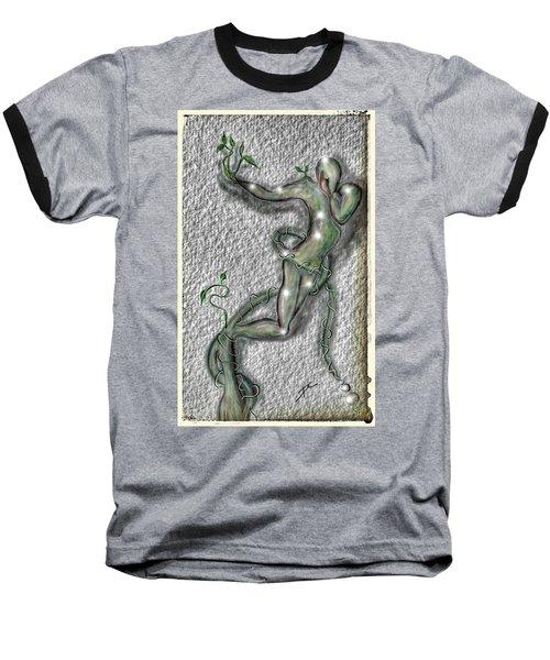 Nature And Man Baseball T-Shirt