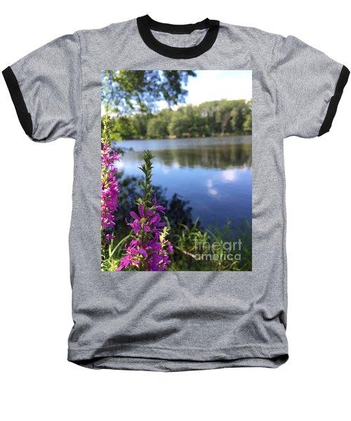 Nature Channelling  Baseball T-Shirt by Jason Nicholas