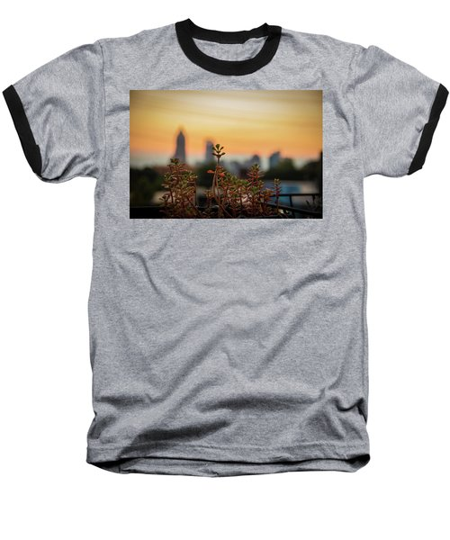Nature In The City Baseball T-Shirt