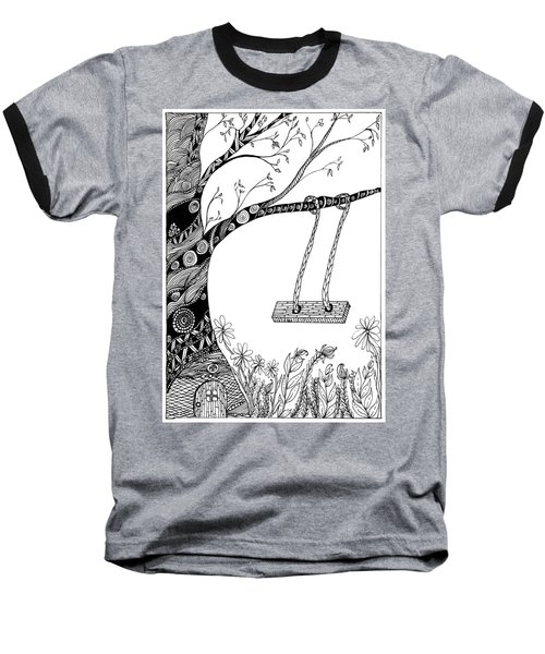 Nature Is Calling Come Out And Play Baseball T-Shirt