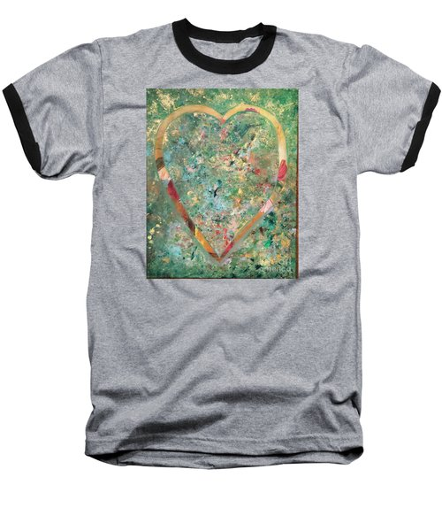 Nature Lover Baseball T-Shirt by Diana Bursztein