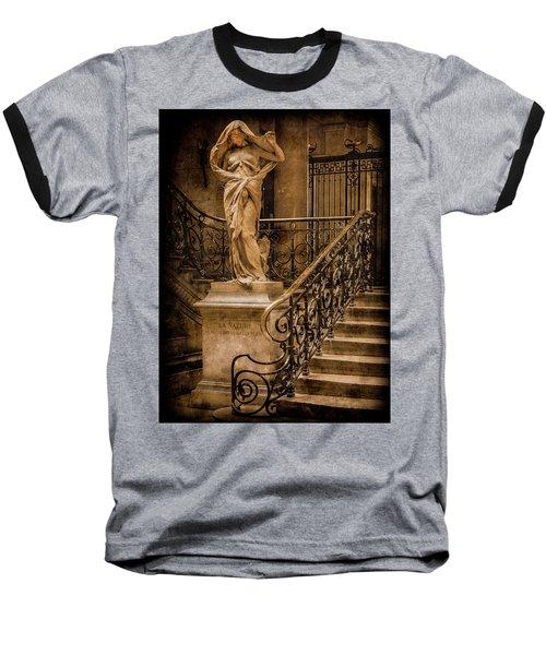Paris, France - Nature Baseball T-Shirt