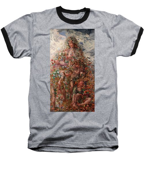 Nature Or Abundance Baseball T-Shirt by Leon Frederic