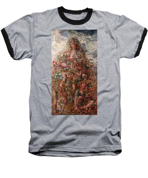 Nature Or Abundance Baseball T-Shirt