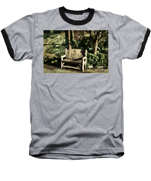 Nature - Peacefulness  Baseball T-Shirt by Judy Palkimas