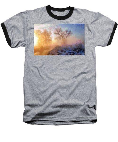 Nature Poetry Baseball T-Shirt by Gun Legler