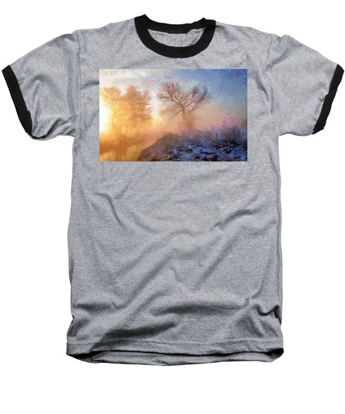 Nature Poetry Baseball T-Shirt